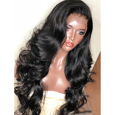 5b5f397f8 cheap Synthetic Wigs-Synthetic Wig / Synthetic Lace Front Wig Wavy  Kardashian Style Layered Haircut