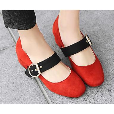 Printemps Bottier Chaussures Talons Gris Polyuréthane à Talon Femme Noir Chaussures Rouge Confort 06812859 pE8px