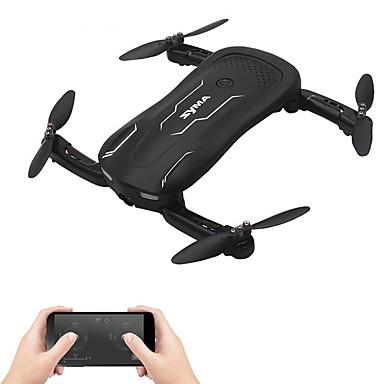 billige Fjernstyrte quadcoptere og multirotorer-RC Drone SYMA Z1 RTF 4 Kanaler 6 Akse 2.4G Med HD-kamera 1MP 720P Fjernstyrt quadkopter En Tast For Retur / Hodeløs Modus / Tilgang Real-Tid Videooptakelse Fjernstyrt Quadkopter / Fjernkontroll / 1