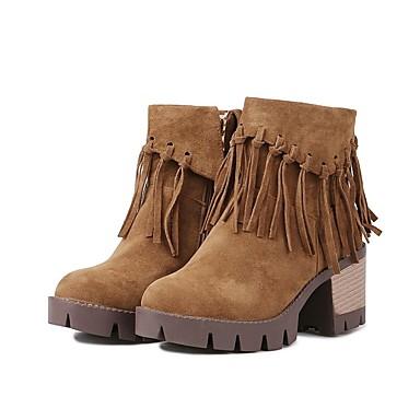Confort Femme Noir Polyuréthane Jaune Beige Bottier été Bottes Chaussures 06801491 Talon Printemps wTpTrIq