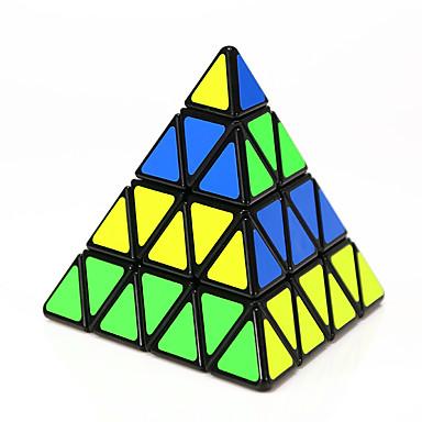 مكعب روبيك Shengshou Pyramid 4*4*4 السلس مكعب سرعة مكعبات سحرية لغز مكعب كلاسيكي & خالد للأطفال للبالغين ألعاب صبيان فتيات هدية