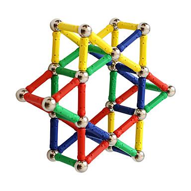 Magnetický blok Magnetické tyčinky Magnetické dlaždice 96 pcs kreativita Transformovatelné Interakce rodič-dítě Vše Chlapecké Dívčí Hračky Dárek