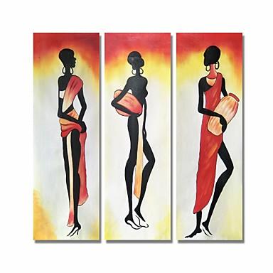 styledecor® moderna ručno oslikana apstraktna osoba nafte na platnu zidne umjetnosti na omotanoj platnu