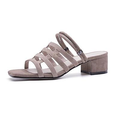 Boucle Bottier Bout Amande Talon Confort 06783210 Noir Daim Sandales ouvert Femme Chaussures Eté anOxzY