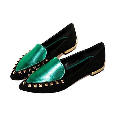 Vin Femme et été Printemps Vert Confort Cuir Talon Bottier Chaussures D6148 Chaussons 06839605 Mocassins Nappa 4OwqpTr4