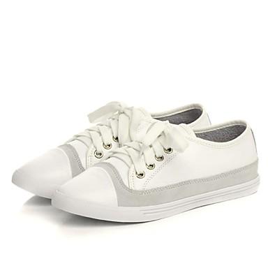 Nappa Basket 06831129 Automne Confort Femme Talon Chaussures Plat Blanc Noir Cuir vxnwvBa