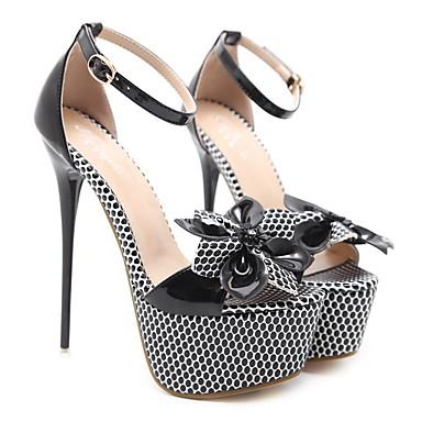 Femme Noir Confort Chaussures à Talons été Printemps 06817143 Chaussures  Talon Polyuréthane Aiguille pxwRArp