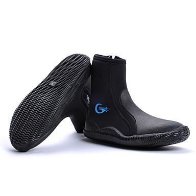 Sapatos para Água 5mm Elastano / Neoprene para Adulto - Anti-Escorregar Mergulho / Surfe / Snorkeling