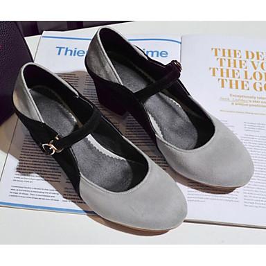 Basique 06785812 Femme Chaussures Polyuréthane Pêche Chaussures Bottier Gris Talon Escarpin Talons Confort Amande Printemps à Automne TxpRfpa4nq
