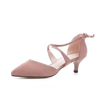 Confort Chaussures Aiguille 06836412 Eté Femme Chaussures Talons Rose Daim Noir à Talon Gris UFpWtwAq