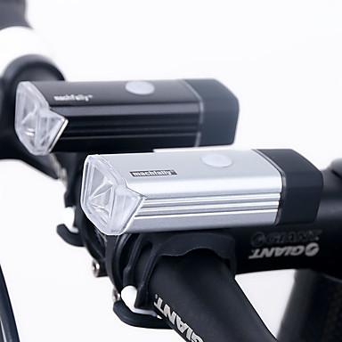Luz Frontal para Bicicleta / Farol para Bicicleta LED Luzes de Bicicleta LED Ciclismo Impermeável, Recarregável, Regulável Bateria de Lítio 180 lm USB Campismo / Escursão / Espeleologismo / Uso