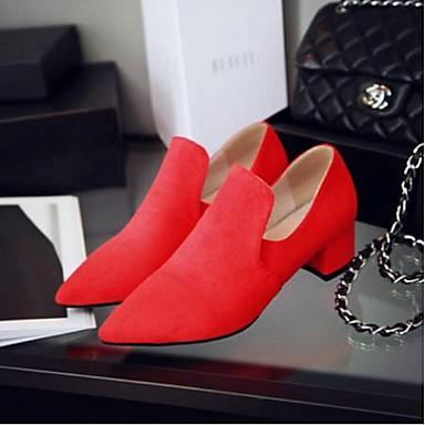 Gris Bottier Talon Rouge Amande Chaussures 06795264 D6148 et Eté Chaussons Daim Automne Mocassins Confort Femme ZaxPUw