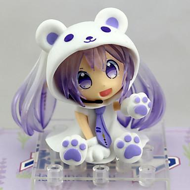 Anime Akcijske figure Inspirirana Vocaloid Snow Miku PVC 6.5 cm CM Model Igračke Doll igračkama