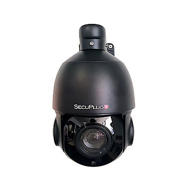 e4430aa964b SecuPlug+® Black PTZ IP Camera 5MP Super HD 2592x1944 Pixels Pan Tilt 30x  Zoom