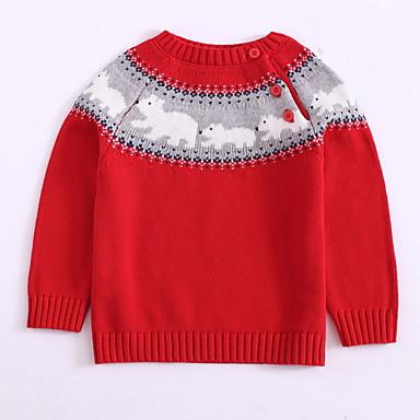 Djeca Dječaci Print Dugih rukava Džemper i kardigan