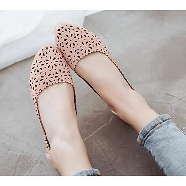 Claro Zapatos Confort PU Plano Mujer Verano Blanco Bailarinas 06790850 Azul Rosa Tacón vqdTSZ