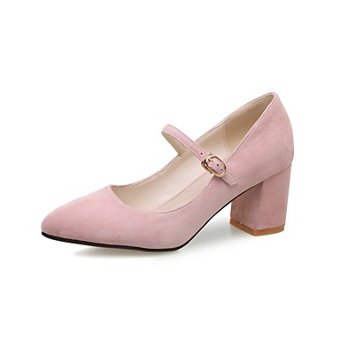 06830396 Amande Daim Bottier Talons Printemps Femme à Chaussures Chaussures été Rose Noir Confort Talon 7zxOqxg