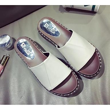 Sandales Confort Noir Eté Polyuréthane Beige Creepers Chaussures Femme 06830484 nqxAFOvA