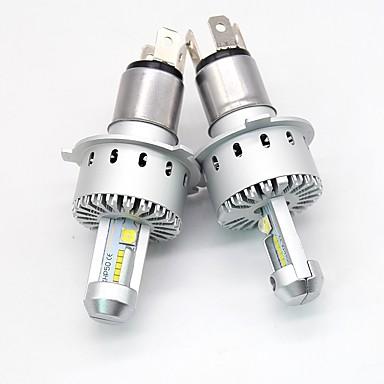 billige Frontlykter til bil-so.k 2pcs h1 / h3 / h4 / h7 / h11 bilpærer 40 w integrert ledet / høy ytelse ledd 12000 lm 12 ledet headlamp alle år