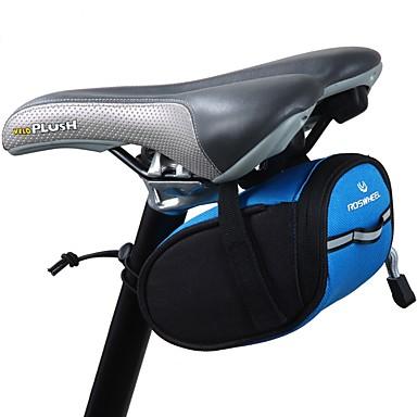 0.9 L Pyörän satulalaukku Kannettava Kevyt Helppo asentaa Pyörälaukku 300D polyesteri Pyörälaukku Pyöräilylaukku Pyörä
