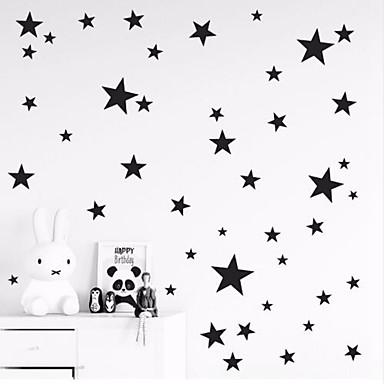 Декоративные наклейки на стены - Простые наклейки Звезды Детская