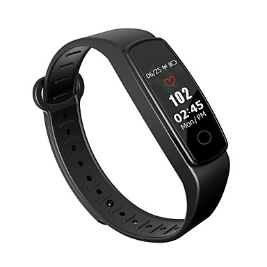 Smart Narukvica C19-SH za Android iOS Bluetooth Vodootporno Mjerenje krvnog tlaka Ekran na dodir Kalorija Udaljenost praćenje Brojač koraka Podsjetnik za pozive Mjerač sna sjedeći Podsjetnik
