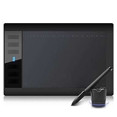 abordables Periféricos de Ordenador-GAOMON 1060pro Panel de dibujo de gráficos USB con cable 8192 5080LPI 10*6 pulgada