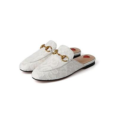 06778592 Confort Nappa Mules Femme Chaussures Bas Eté Talon Noir Printemps Cuir Rose amp; Sabot Blanc xwqfqp6H