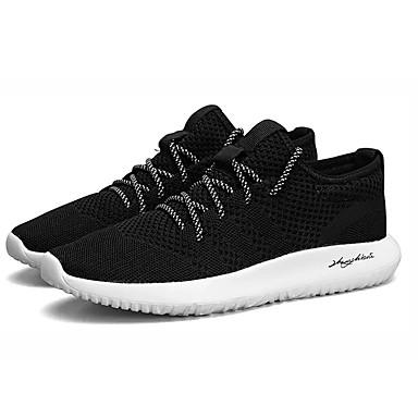 Muškarci Mrežica Ljeto Udobne cipele Atletičarke tenisice Hodanje Crn / Sive boje / Crvena