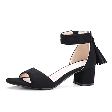Ante Beige Negro Tacón Sandalias Camello verano Color Mujer Zapatos Primavera Cuadrado 06856497 Confort R5wHnZqxT