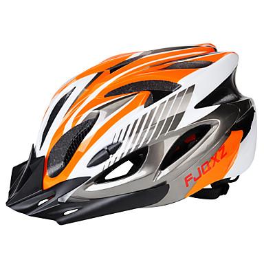 billige Hjelmer-Voksne sykkelhjelm 18 Ventiler Justerbar passform ESP+PC sport Sykling / Sykkel Sykkel - Svart / Rød Svart / Blå Sølv+Oransje Herre Dame Unisex