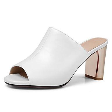 Confort de Rose Peau Talon 06862104 Blanc Aiguille Femme Noir Printemps Chaussures Sandales mouton EqgnwXT1