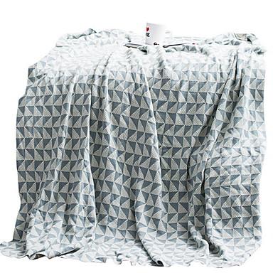povoljno Deke i prekrivači-Bacanje kauča, Geometrijski oblici Pamuk / poliester Udoban pokrivači