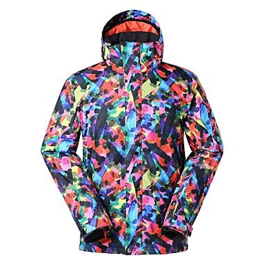 123571ff3b GSOU SNOW Men s Ski Jacket Ski Skiing Winter Sports Ski   Snowboard Winter  Sports POLY Top Ski Wear 6896982 2019 –  109.99