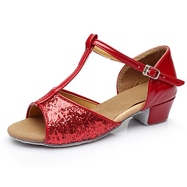 6efc32bf6ba8 cheap Dance Shoes-Women  039 s Latin Shoes Patent Leather Sandal   Heel