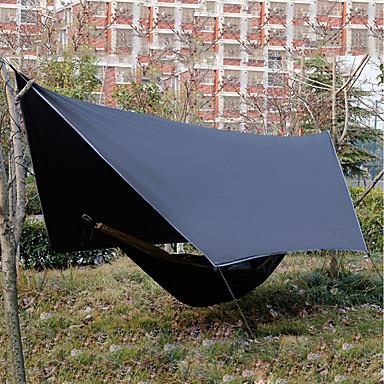 رخيصةأون مفارش و خيم و كانوبي-5 شخص واقي للتخييم في الهواء الطلق مقاوم للأشعة فوق البنفسجية مكتشف الأمطار خفيف جدا (UL) طبقات مزدوجة خيمة التخييم 1000-1500 mm إلى شاطئ Camping / Hiking / Caving تنزه قماش اكسفورد مادة مضادة للماء