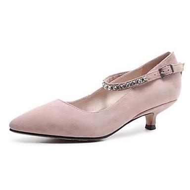 Talons Noir Printemps Rose Bas Chaussures Amande Escarpin Femme 06862080 à Basique Chaussures Daim Talon vwSqEUx