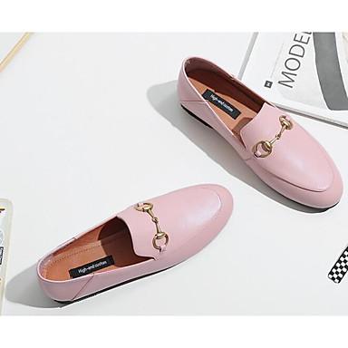 Rose Printemps Cuir 06861985 Chaussons Jaune Nappa Confort Automne et Noir Plat Mocassins D6148 Femme Talon amp; Chaussures wCp5qWxtZ