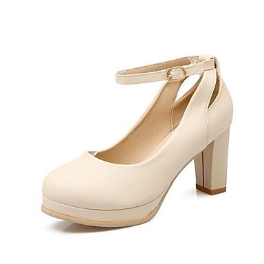 verano Rosa Zapatos Primavera Tacones Microfibra Almendra Tacón Cuadrado Confort Azul Mujer 06848698 zAqtwxCq