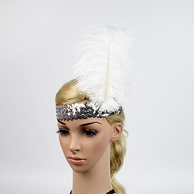 Gatsby Le Magnifique Retro Annees 20 Costume Femme Bandeau Garconne