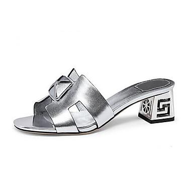 Confort Bottier Nappa 06848655 Femme Printemps Rose Talon Argent Cuir Chaussures Noir Sandales gwIgC0qAx
