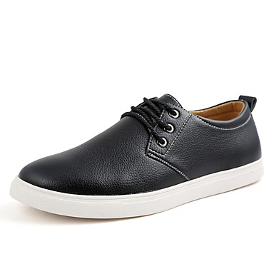 Men's Spring Comfort Shoes Patent Leather Spring Men's &  Fall Sneakers Black / Yellow / Blue be5f1b