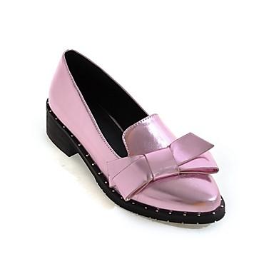 Printemps Block Confort été Polyuréthane foncé Gris 06849731 Argent Chaussures Rose Femme Ballerines Heel qxYESUq4n