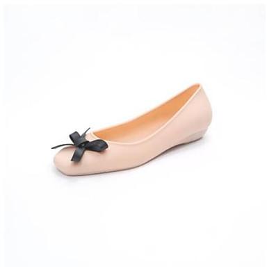 Zapatos Punta Primavera Plano Bailarinas Almendra Tacón Confort Negro cerrada PU 06850068 Mujer Verano B80dBq