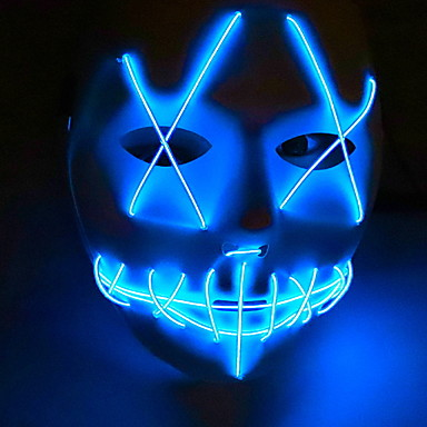 cheap Happy Halloween-Holiday Decorations Halloween Decorations Halloween Masks Decorative / Cool Blue 1pc
