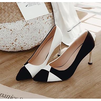 à Talon Aiguille Femme Chaussures synthétique Chaussures Automne Blanc 06849620 Confort Rouge Talons Matière xrw86zYx