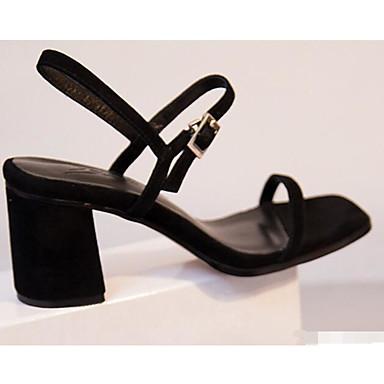 Rouge Sandales Escarpin mouton Noir amp; 06858766 de Chaussures Peau Bottier Confort Automne Basique Femme Talon Printemps SqvB6w8n