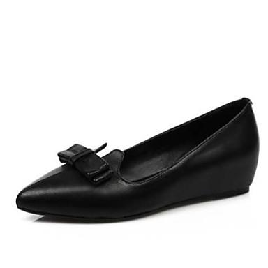 les chaussures de confort des mocassins et et et printemps nappa cuir noir glisse ons croûton bouts fermés 16926c