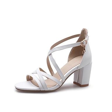 Confort Bottier Blanc 06862588 Chaussures Noir Polyuréthane Talon Femme Sandales Printemps Amande été wf7FWwaBq