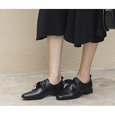 Noir Mocassins Cuir 06850378 Talon Femme Plat Chaussons Printemps Nappa amp; Automne et Chaussures D6148 Confort 0Pqqw5CO4